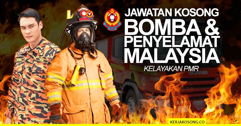 Post image for Jawatan Kosong Bomba & Penyelamat Malaysia