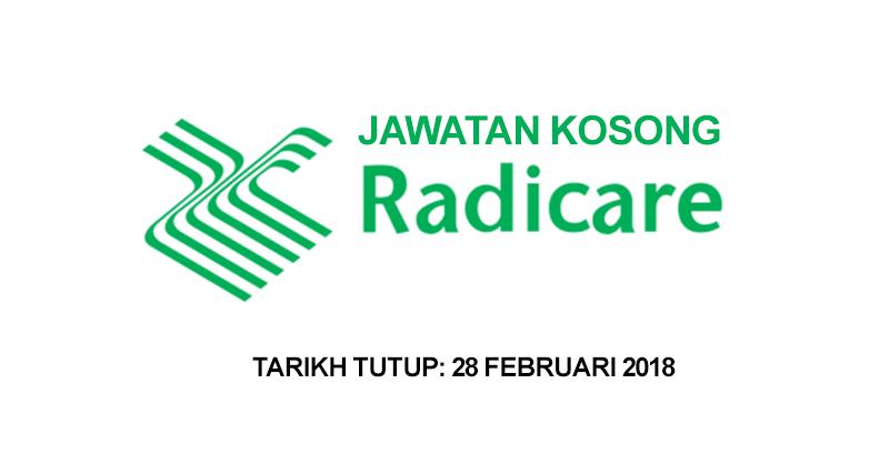 Thumbnail image for Jawatan Kosong Radicare Malaysia
