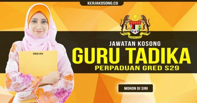 Thumbnail image for Jawatan Kosong Guru Tadika Perpaduan