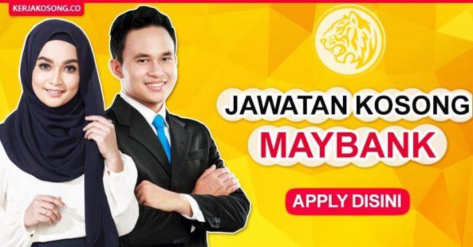 Thumbnail image for Jawatan Kosong Maybank